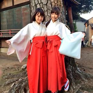 袴姿も着こなす大原櫻子。
